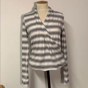 NWOT Lululemon Radiant Striped Long Sleeve Top